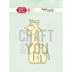 Craft & You - Giraffe - CW086