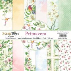 ScrapBoys - Papirblok 15x15...