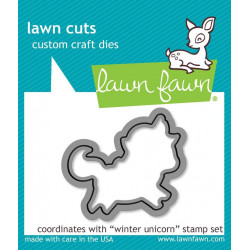 Lawn Fawn - Winter Unicorn...