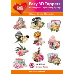 Easy 3D Toppers - Vintage...