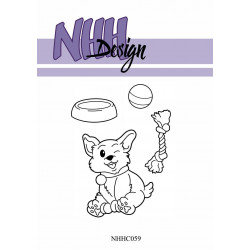 NHH Design - Die - Girl With Books - NHHD013