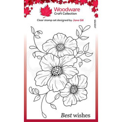 Woodware - Clear Stamp -...