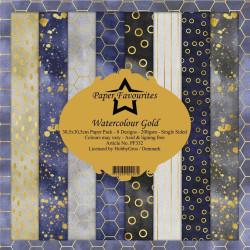 Craft Perfect - Satin Mirror Card - Gold Pearl