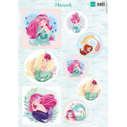 Marianne Design - Mermaids...