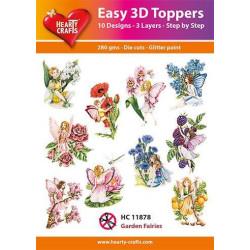 Easy 3D Toppers - Garden...