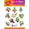 Easy 3D Toppers - Berries