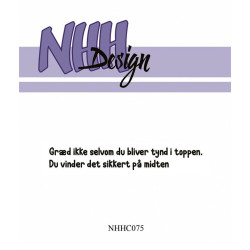 NHH Design - Clearstamp - Istid - NHHC016