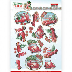 Yvonne Creations - Christmas Village - Christmas Transportation - CD11543