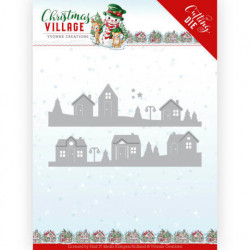 Yvonne Creations - Christmas Village - House Scene - YCD10213