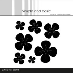 Simple And Basic - Flowers - SBD095