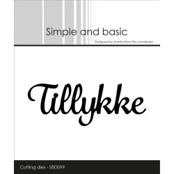 Simple And Basic - Tillykke - SBD099