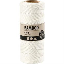 Bamboo Cord - Hvid