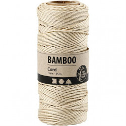 Bamboo Cord - Off White