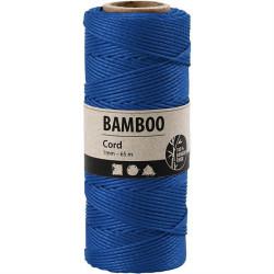 Bamboo Cord - Blå
