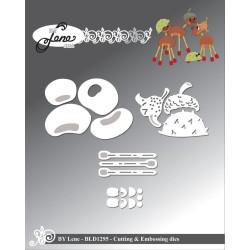 Joy - Papirblok A4 - Merry Lama - 6011/0617