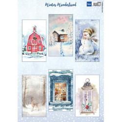 Marianne Design - Soft Glitter Paper - Silver