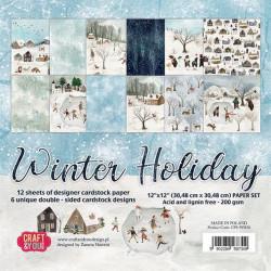 By Lene - Clearstamp - Christmas Rabbit - BLS1123