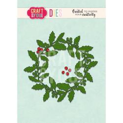 By Lene - Clearstamp - Christmas Teddy Bear - BLS1125