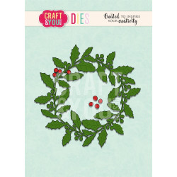 Craft & You - Holly Wreath...