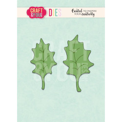 Craft & You - Holly Leaves...