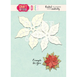 Craft & You - Poinsetia 2 -...