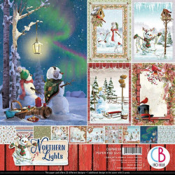 Paper Favourites - Paper Pack 15x15 - Vintage Christmas - PF102