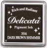 Delicata - Dark Brown Shimmer - Small