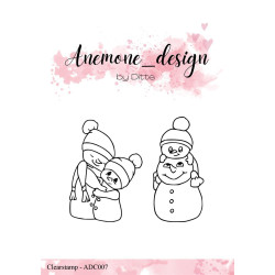 Dixi Craft - Snowman 1 - MD0159
