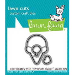 Lawn Fawn - Sweetest Flavor...