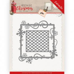 Nellie Snellen - 3D Embossing Folder - Poinsettia Corner