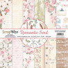 ScrapBoys - Papirblok 15x15 - Romantic Soul