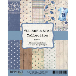 Reprint - Papirpakke 15x15 - You Are A Star - RPP044