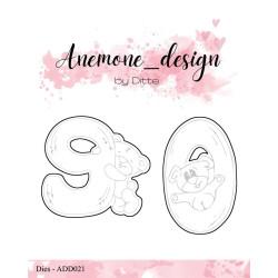 Anemone_Design - Teddy Bear 9 & 0