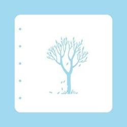 Nellie Snellen - Stencil A6 - Tree