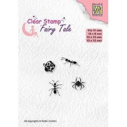 Nellie Snellen - Clear Stamps - Fairy Tale - Insects - FTCS026