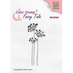 Nellie Snellen - Clear Stamps - Fairy Tale - Umbellifers - FTCS030