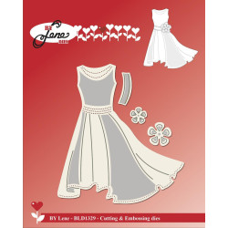 By Lene - Dress - BLD1329