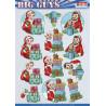 Yvonne Creations - Big Guys - Christmas - CD11533