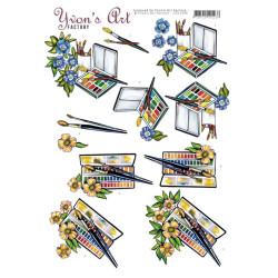 Reprint - Paperpack 30.5x30.5 - Music & Roses - CRP013