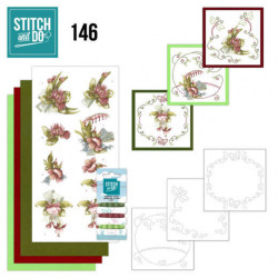 Pushout - Precious Marieke - Spring Delight - Red Flowers - SB10424