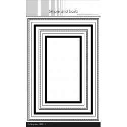 Simple And Basic - Stempel - Dansk Tekst - SBC098