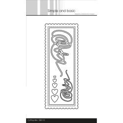 Simple And Basic - Stempel - Dansk Tekst - SBC102