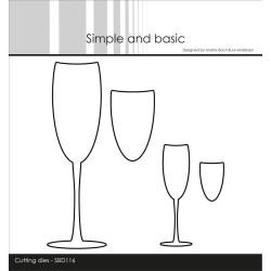 Simple And Basic - Stempel - Dansk Tekst - SBC104