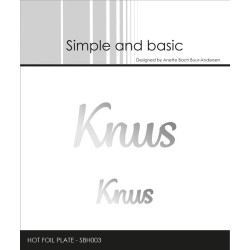 Simple And Basic - Alphabet XXL - SBD082