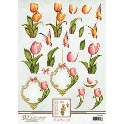 Ann's Paper Art - Tulips -...