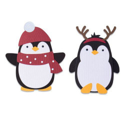 Sizzix - Bigz Die - Penguin...