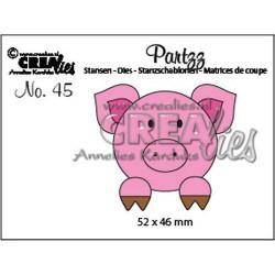 CREAlies - Partz - Pig -...