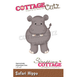 CottageCutz - Safari Hippo...