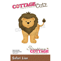 CottageCutz - Safari Lion -...