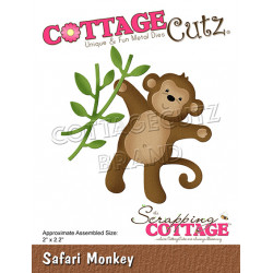 CottageCutz - Safari Monkey...